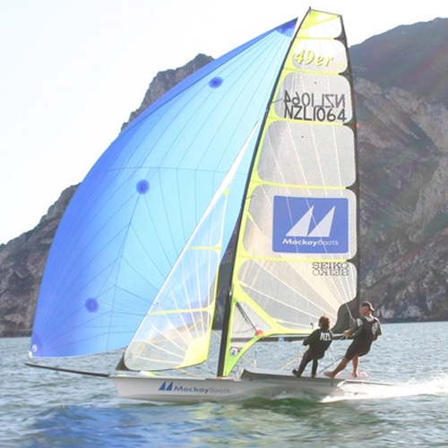 49er Rig Package Mast & Sails